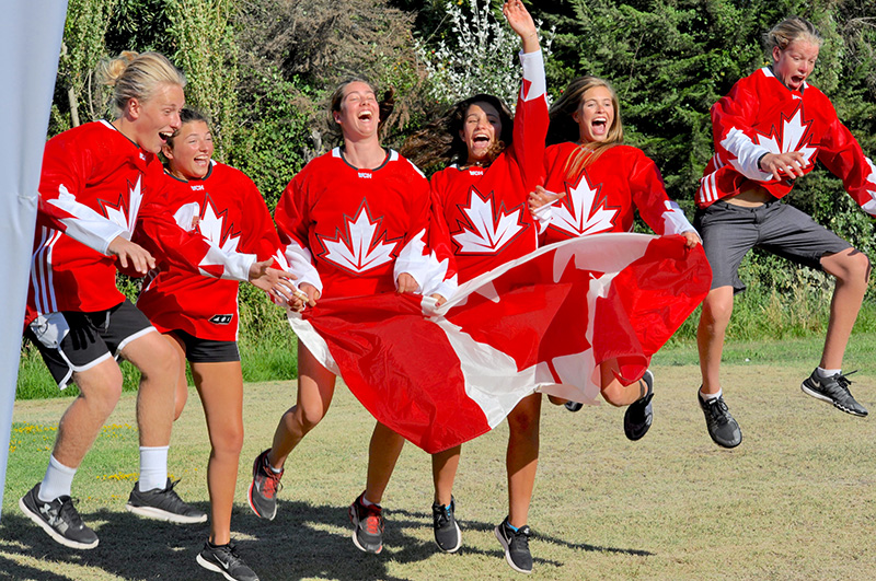 Team Canada Golden at Jr Worlds Water Ski Championships